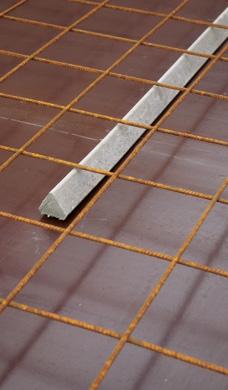 Faserbeton Dreikant Bild