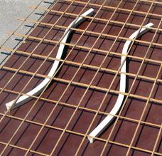 Faserbeton Schlange Bild 1