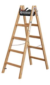 Holz-Stehleiter Bild