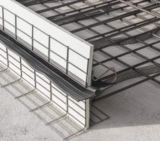 Stremaform Dehnfuge mit Fugenbandkorb Bild
