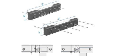 Gestützte Balkonplatten 01 Bild