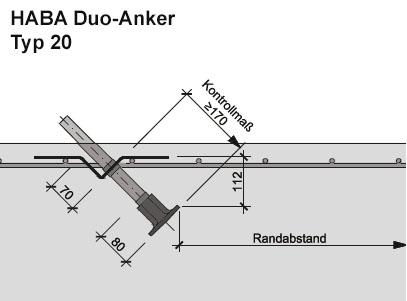 HABA Duo-Anker Typ20-skizze