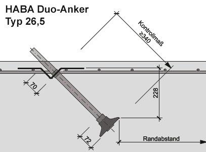 HABA Duo-Anker Typ26,5-skizze